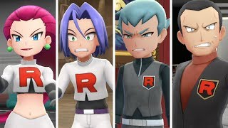 Evolution Of Team Rocket In Pokemon Let