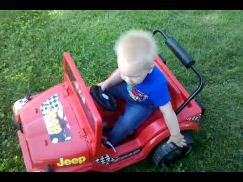 Power wheels 6 volt 2 motors jeep - YouTube