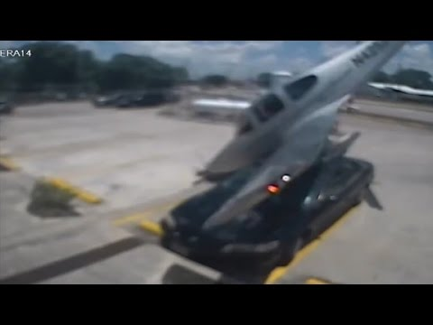 Ta Truck Stop >> Plane spins, drops from the sky - YouTube