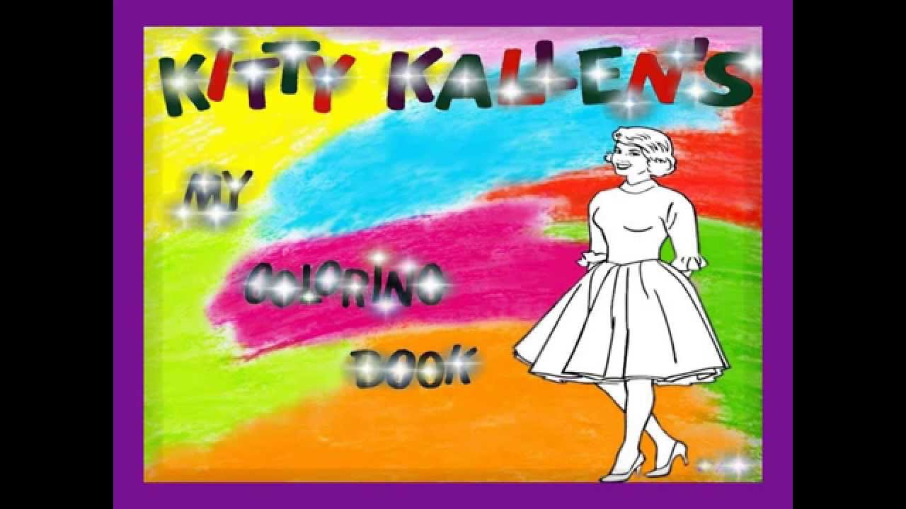 Kitty Kallen - My Coloring Book - YouTube