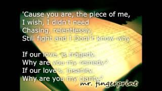 Clarity - Jessica Sanchez (Acoustic piano - Lyrics) MinusOne/Karaoke/Instrumental HQ