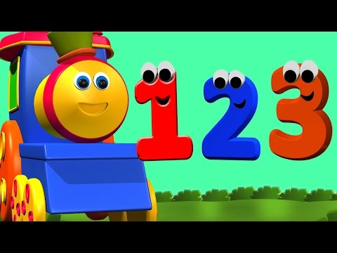 Bob o trem número português aventura | aprender os números em português | bob a compilação de trem