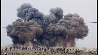RAW Russian Fighter jets airstrikes on Islamic jihadi Groups in Idlib Syria Breaking News April 2019