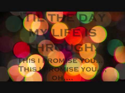 This I Promise You - Lyrics - Anthem Lights version