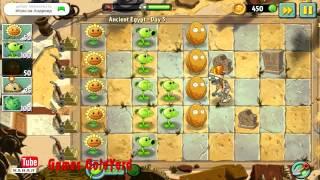 """Растения против зомби 2 Египет прохождение 3 уровень - приз """"Блумеранг"""""""