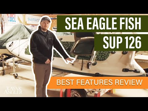 Sea Eagle FishSUP 126 🎣 Fishing SUP 📈 Specs & Features Review and Walk-Around 🏆