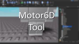 Motor6D Tools Tutorial (Read Desc)   Roblox Studio