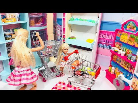 Barbie Chelsea SUPERMARKET and BAKERY!!