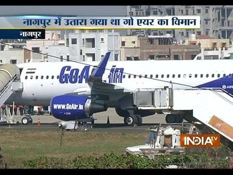 Bomb Scare: GoAir Flight Makes an Emergency Landing in Nagpur