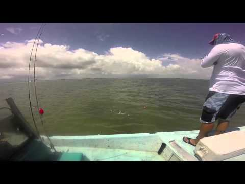 Fishing the flats big reds and nice speckled trout arroyo city tx youtube for Arroyo city fishing