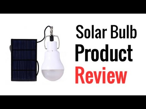 LightMe Rechargeable Solar Bulb Review