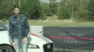 Jaguar's 'Art of Performance' tour - Interview with Romain Grosjean, F1 Driver | AutoMotoTV