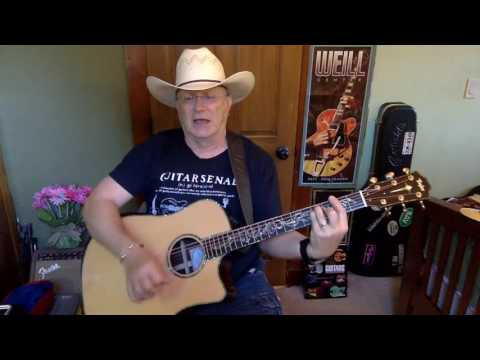 2074  - Stand By Your Man -  Lyle Lovett vocal & acoustic cover & chords