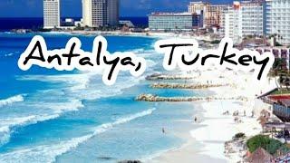 Fabulous Antalya Turkey tourist destination with wonderful hotels Анталия Турция сказочный рай