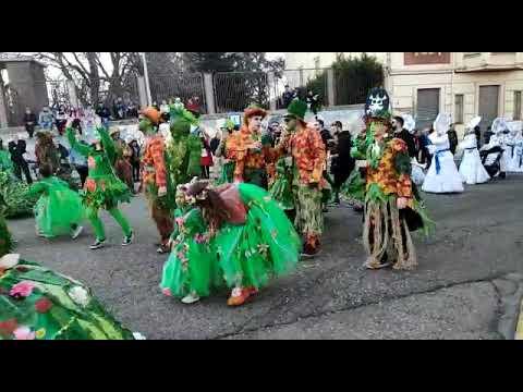El desfile del año anterior en La Bañeza