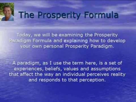 Prosperity Paradigm Formula