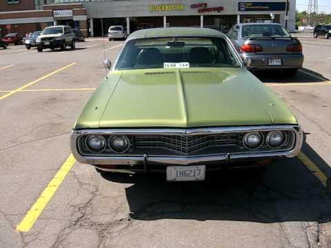 Uncle Tony's 1972 Dodge Coronet Custom at the Monkey - YouTube