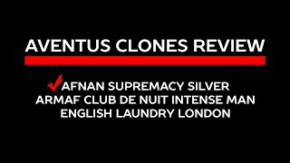 AFNAN SUPREMACY SILVER (AVENTUS CLONE)