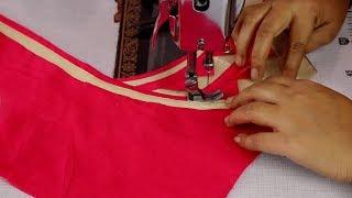 Cotton Saree Blouse Design