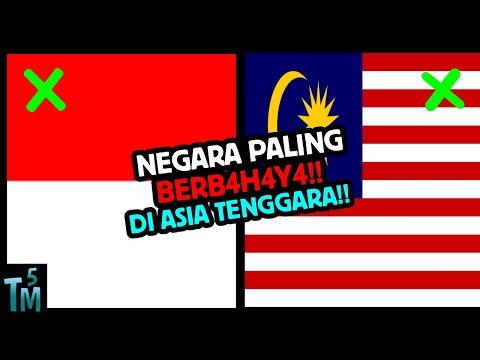 TAK DISANGKA, 5 Negara Paling Berb4h4y4 Di Asia Tenggara !!