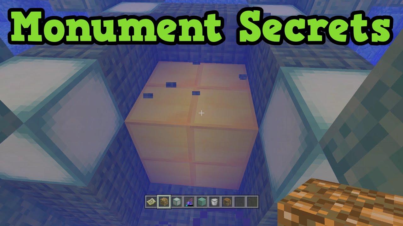 Minecraft Xbox 11 / PS11 Ocean Monument Secrets