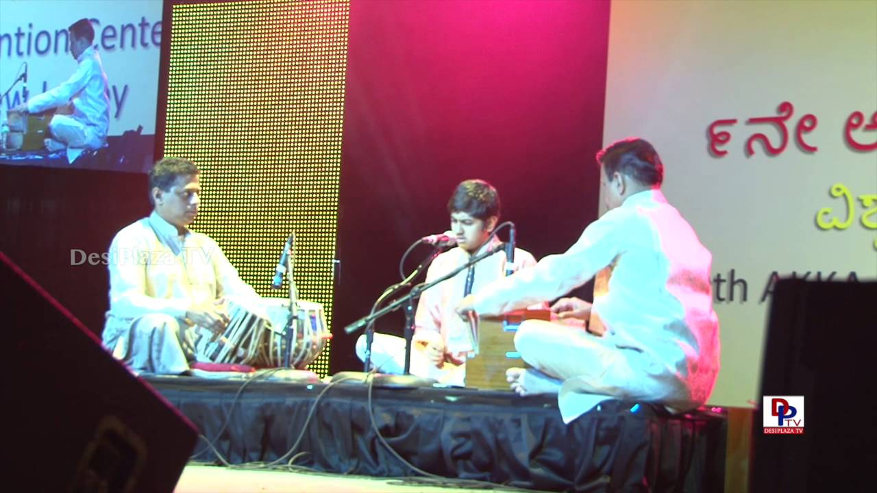 Nandan Sastry Bhajans at 9th AKKA World Kannada Conference - Atlantic City, NJ