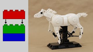 building a Galloping LEGO Horse