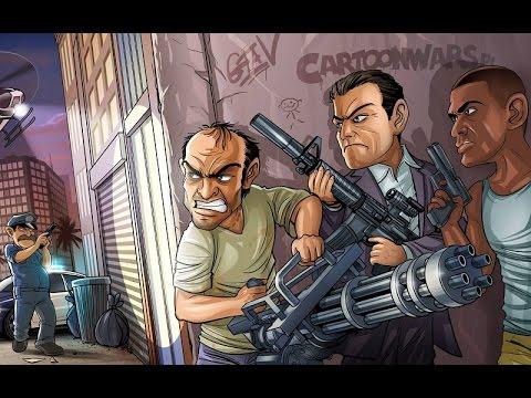 GTA 5 Trevor , Michael , Franklin Hang out New adventures