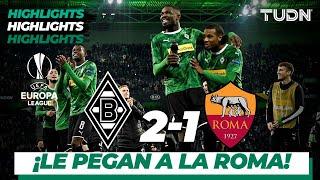 Highlights | Borussia Mon 2 - 1 AS Roma | Europa League - J4 - Grupo J | TUDN