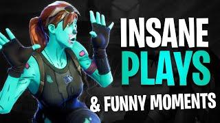 Insane Fortnite Plays & Funny Moments! (Fortnite Clip Compilation)