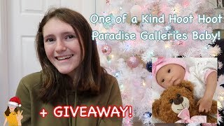 Paradise Galleries Project! One of a Kind Hoot Hoot doll Reborned by Me! + GIVEAWAY! | Kelli Maple