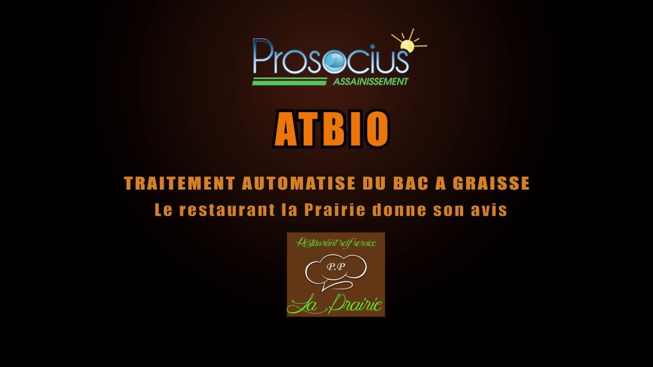 bac graisse restaurant atbio youtube. Black Bedroom Furniture Sets. Home Design Ideas