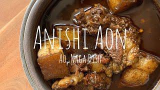 Anishi Aon, Ao Naga Dish. NAGALAND FOODS. YouTube Videos