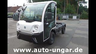 Youtube-Video Goupil G4 Elektrofahrzeug Fahrgestell 13,8KWH Lithium Picnic °186
