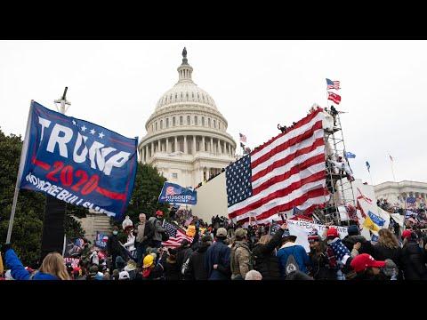 Rioters invade U.S. Capitol, encouraged by U.S. President Trump   CTV National News