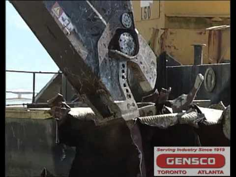 Gensco ZATO CAYMAN Mobile Scrap and Demolition Shear