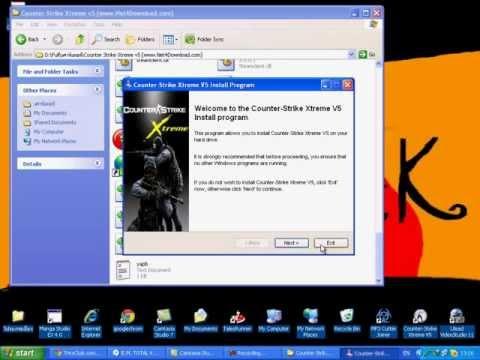 สอนโหลดCounter Strike Xtreme V5.avi