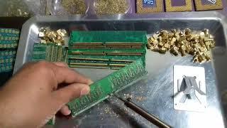 Extraindo Ouro de Pente de Memória RAM