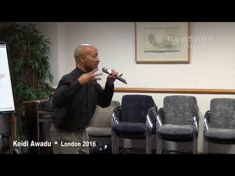 Keidi Awadu London 2016 - Living Superfood Longevity