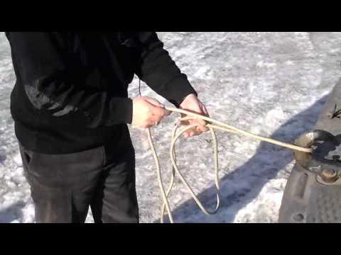 Как вязать пожарные узлы видео