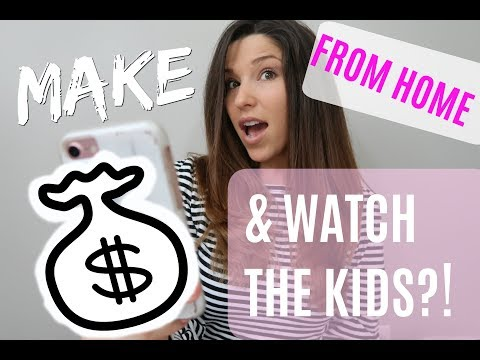 HOW TO MAKE MONEY & BE A STAY AT HOME MOM