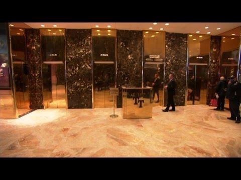 Trump elevators: Red carpet of politics?