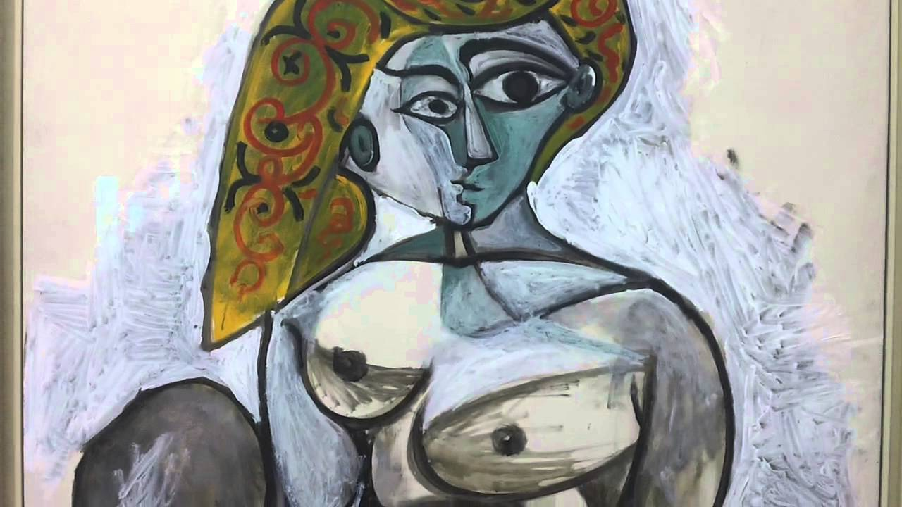 femme nue au bonnet turc 01 12 1955 pablo picasso 1881 1973 centre georges pompidou