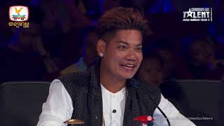 Cambodia's Got Talent Season 2   Judge Audition   Week 3 - រ័ត្ន រង្សី - សៀក