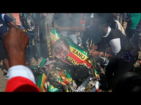 UN condemns violence in Zimbabwe amid protests over initial election results