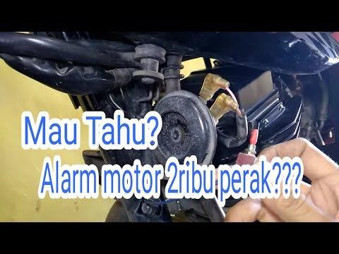 Bikin Alarm Motor modal dua ribu perak