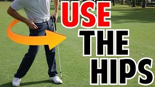 How to Use the Hips in the Golf Swing | Crazy Detail