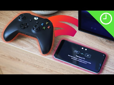 Hands-on with Stadia Phone Link!