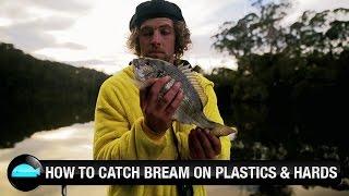 Catching Bream On Soft Plastic & Hardbody Lures | We Flick Fishing Videos