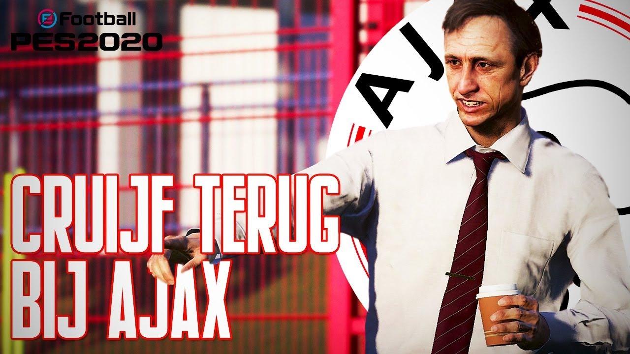 Johan Cruijff Terug Bij Ajax Pes 2020 Ajax Master League 1